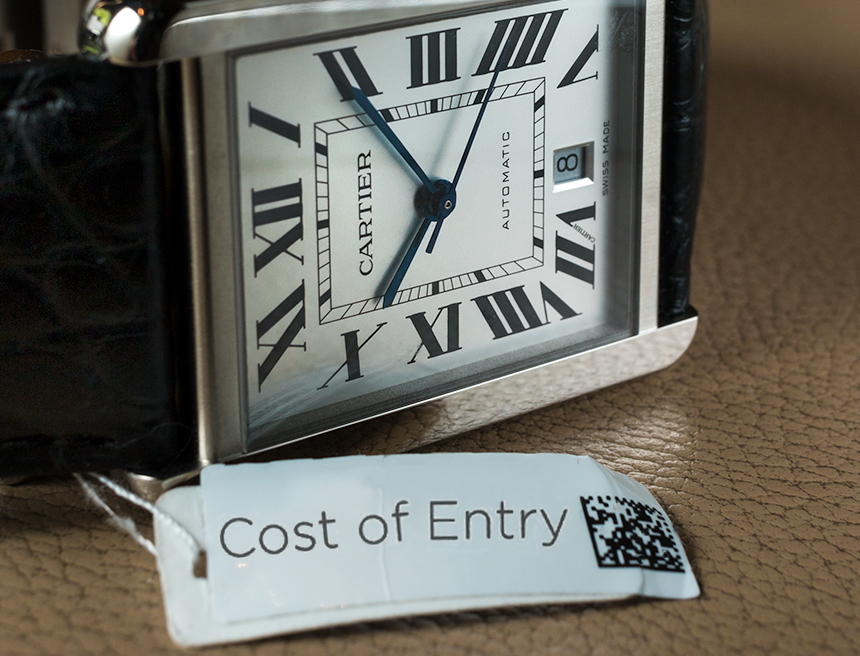 Cartier-Tank-Solo-XL-Automatic-Cost-Of-Entry-aBlogtoWatch-featured