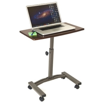 WEB162 Mobile Laptop Stand and Cart By Seville Classics,