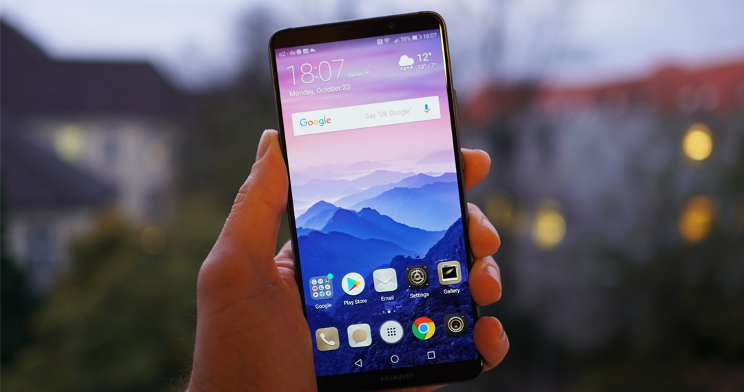 Huawei Mate 10 y Mate 10 Pro- Software